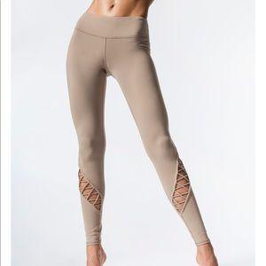 Alo yoga Entwine Legging Gravel *altered at waist*